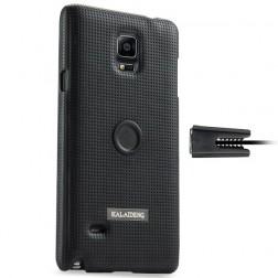 """""""Kalaideng"""" Drive dėklas - juodas + automobilinis laikiklis (Galaxy Note 4)"""