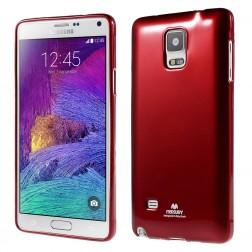 """""""Mercury"""" dėklas - raudonas (Galaxy Note 4)"""