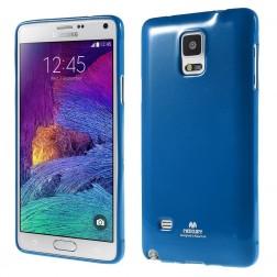 """""""Mercury"""" dėklas - mėlynas (Galaxy Note 4)"""