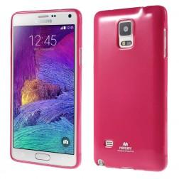 """""""Mercury"""" dėklas - tamsiai rožinis (Galaxy Note 4)"""