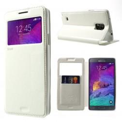 """""""Roar"""" Noble atverčiamas dėklas - baltas (Galaxy Note 4)"""