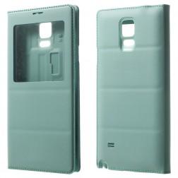 """""""Smart Window"""" atverčiamas odinis dėklas - mėtinis (Galaxy Note 4)"""