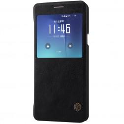 """""""Nillkin"""" Qin atverčiamas dėklas - juodas (Galaxy Note 5)"""