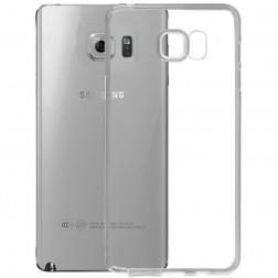 Ploniausias TPU skaidrus dėklas - pilkas (Galaxy Note 5)