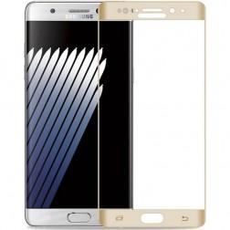 """""""Amorus"""" Tempered Glass apsauginis ekrano stiklas 0.22 mm - auksinis (Galaxy Note 7)"""