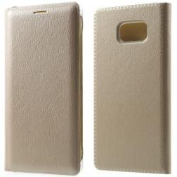 """""""Smart Wallet"""" atverčiamas dėklas - auksinis (Galaxy Note 7)"""