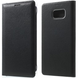 """""""Smart Wallet"""" atverčiamas dėklas - juodas (Galaxy Note 7)"""
