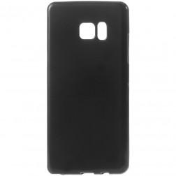 Kieto silikono (TPU) dėklas - juodas (Galaxy Note 7)
