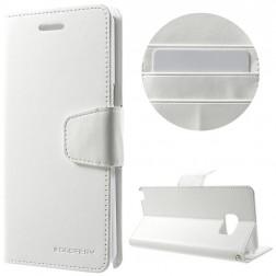 """""""Mercury"""" Sonata atverčiamas dėklas - baltas (Galaxy Note 7)"""