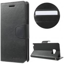 """""""Mercury"""" Sonata atverčiamas dėklas - juodas (Galaxy Note 7)"""