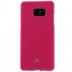 """""""Mercury"""" dėklas - tamsiai rožinis (Galaxy Note 7)"""