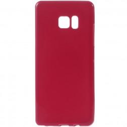 Kieto silikono (TPU) dėklas - raudonas (Galaxy Note 7)