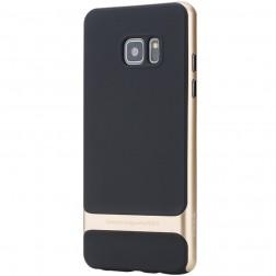 """""""Rock"""" Royce dėklas - juodas / auksinis (Galaxy Note 7)"""