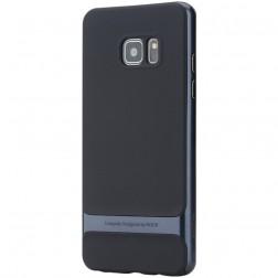 """""""Rock"""" Royce dėklas - juodas / mėlynas (Galaxy Note 7)"""