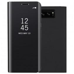Plastikinis atverčiamas dėklas - juodas (Galaxy Note 8)