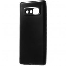 Kieto silikono (TPU) dėklas - juodas (Galaxy Note 8)