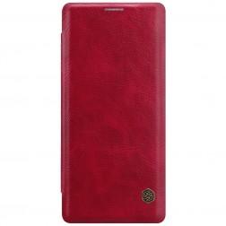 """""""Nillkin"""" Qin atverčiamas dėklas - raudonas (Galaxy Note 8)"""
