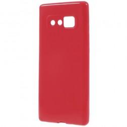 Kieto silikono (TPU) dėklas - raudonas (Galaxy Note 8)