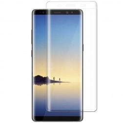 Pilnai dengiantis apsauginis ekrano stiklas (0,3 mm) - skaidrus (Galaxy Note 8)