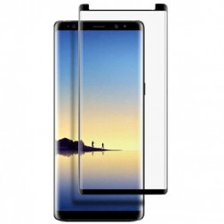 """""""3D"""" Tempered Glass apsauginis ekrano stiklas 0.26 mm - juodas (Galaxy Note 9)"""