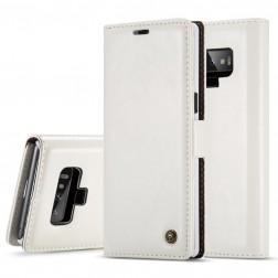 """""""CaseMe"""" solidus atverčiamas dėklas - baltas (Galaxy Note 9)"""
