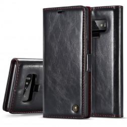 """""""CaseMe"""" solidus atverčiamas dėklas - juodas (Galaxy Note 9)"""