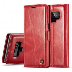 """""""CaseMe"""" solidus atverčiamas dėklas - raudonas (Galaxy Note 9)"""
