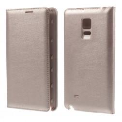 """""""Smart Wallet"""" atverčiamas dėklas - auksinis (Galaxy Note Edge)"""