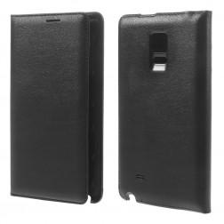 """""""Smart Wallet"""" atverčiamas dėklas - juodas (Galaxy Note Edge)"""