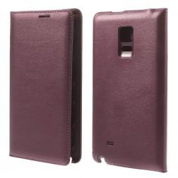 """""""Smart Wallet"""" atverčiamas dėklas - vyšninis (Galaxy Note Edge)"""