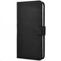 """""""Litchi"""" atverčiamas dėklas - juodas (Galaxy Note Edge)"""