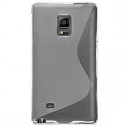 Kieto silikono (TPU) dėklas - skaidrus (Galaxy Note Edge)