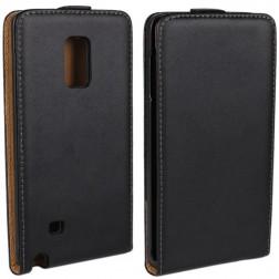 Klasikinis atverčiamas dėklas - juodas (Galaxy Note Edge)