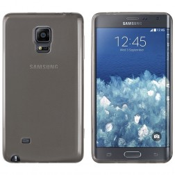 Ploniausias TPU skaidrus dėklas - pilkas (Galaxy Note Edge)