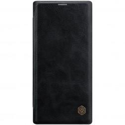 """""""Nillkin"""" Qin atverčiamas dėklas - juodas (Galaxy Note 10+)"""