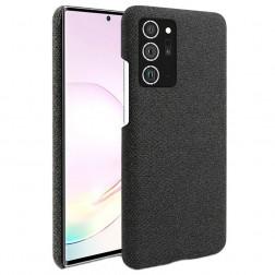 """""""Fashion"""" kieto silikono (TPU) dėklas - juodas (Galaxy Note 20 Ultra)"""