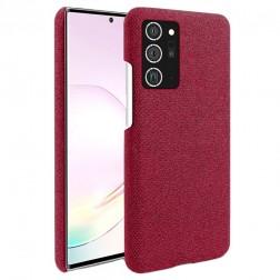 """""""Fashion"""" kieto silikono (TPU) dėklas - raudonas (Galaxy Note 20 Ultra)"""
