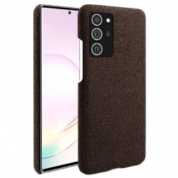 """Fashion"" kieto silikono (TPU) dėklas - rudas (Galaxy Note 20 Ultra)"