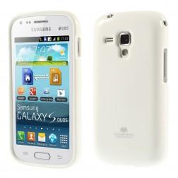 """""""Mercury"""" dėklas - baltas (Galaxy S Duos / S Duos 2 / Trend / Trend Plus)"""