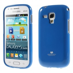 """""""Mercury"""" dėklas - mėlynas (Galaxy S Duos / S Duos 2 / Trend / Trend Plus)"""