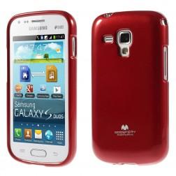 """""""Mercury"""" dėklas - raudonas (Galaxy S Duos / S Duos 2 / Trend / Trend Plus)"""