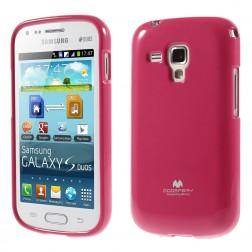 """""""Mercury"""" dėklas - rožinis (Galaxy S Duos / S Duos 2 / Trend / Trend Plus)"""