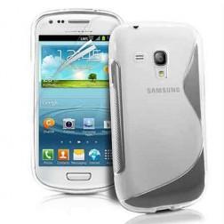 Silkoninis dėklas - skaidrus (Galaxy S Duos / Trend)