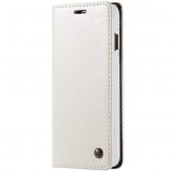 """""""CaseMe"""" solidus atverčiamas dėklas - baltas (Galaxy S10)"""