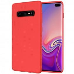 """""""Lenuo"""" kieto silikono (TPU) dėklas - raudonas (Galaxy S10)"""