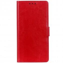 Atverčiamas dėklas - raudonas (Galaxy S10 Lite)