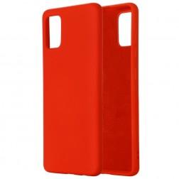 """""""Shell"""" kieto silikono (TPU) dėklas - raudonas (Galaxy S10 Lite)"""