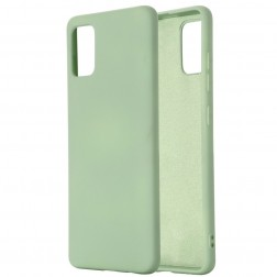 """""""Shell"""" kieto silikono (TPU) dėklas - žalias (Galaxy S10 Lite)"""