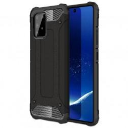 Sustiprintos apsaugos dėklas - juodas (Galaxy S10 Lite)