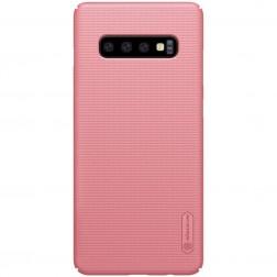 """Nillkin"" Frosted Shield dėklas - rožinis (Galaxy S10)"